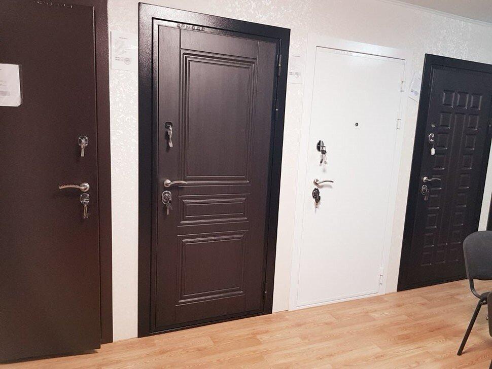 Выставка металлических дверей Армада